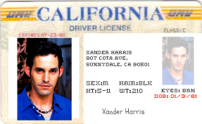 xander license